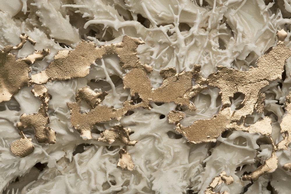 Mycelia (detail) 30''x14''x6''