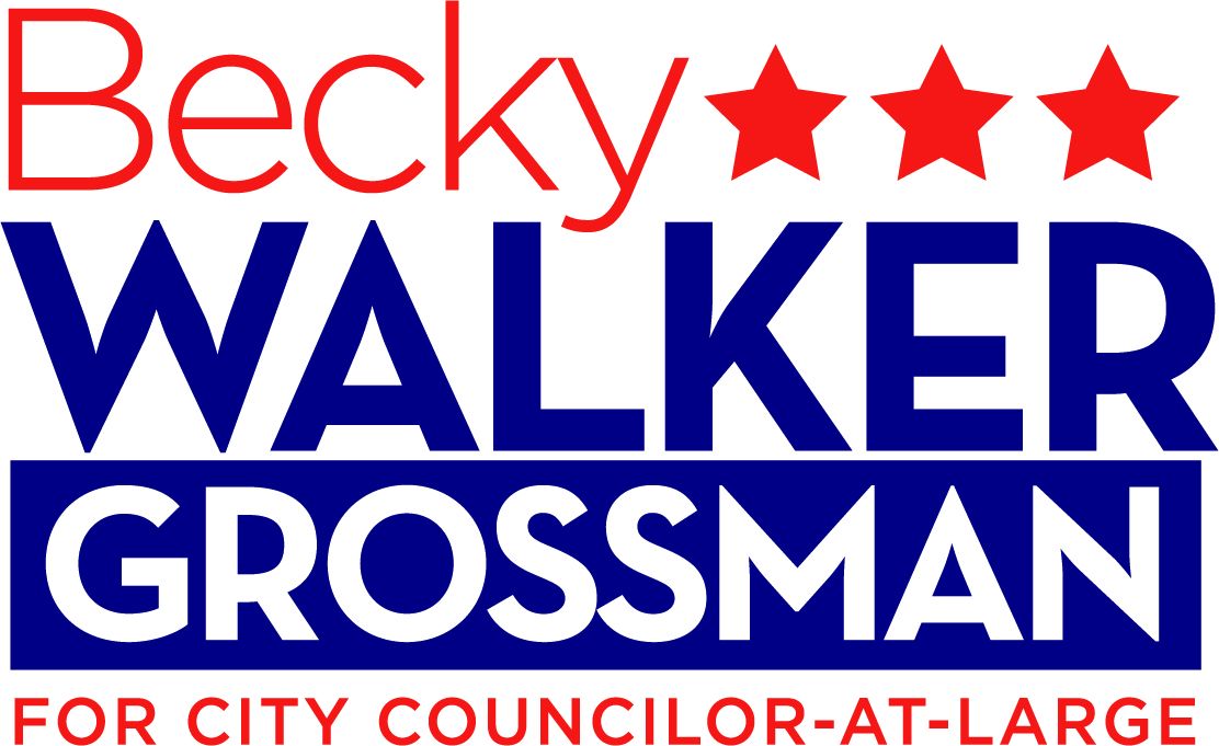 Becky Walker Grossman for Newton City Councilor-at-Large, Ward 7