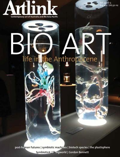 Bio Art: Life in the Anthropocene, Artlink Volume 34 #4, September 201