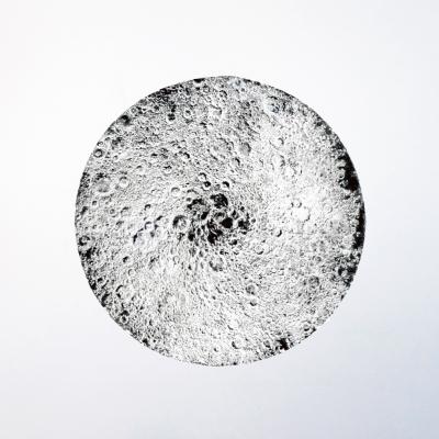 Anais Tondeur, After Lunar Reconnaissance Orbiter V2 – Mutation of the Visible, 2013