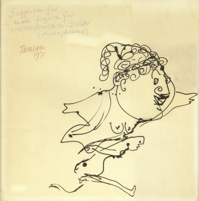 Franciszka Themerson, male figure for Thesmophoria-Zusai, 1971