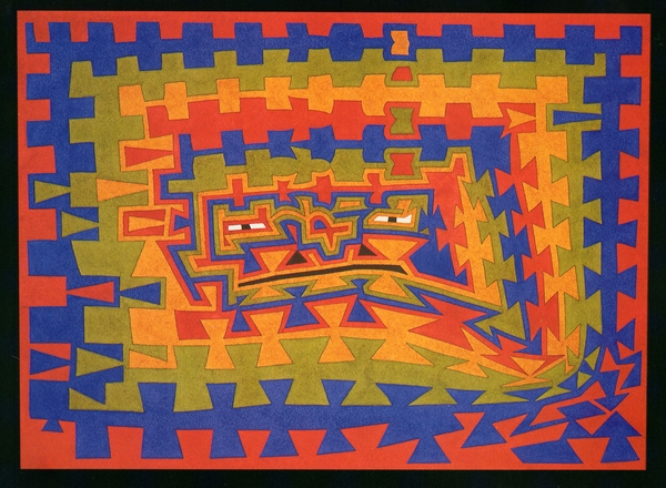 Dominic Boreham, An Earth Spirit Watches, 1990, watercolour, 28 x 38.4.jpg