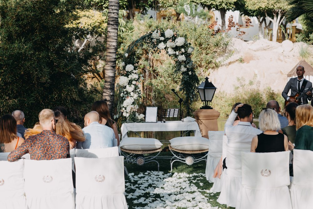 Ceremony set up (can be customised by your needs)