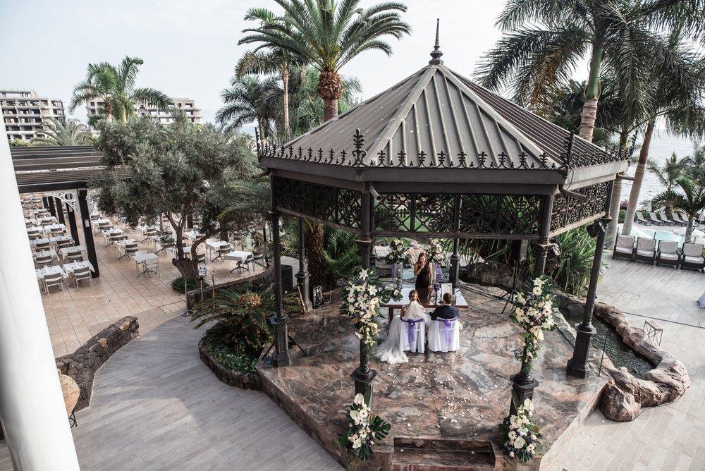 Ceremony place - beautiful gazebo