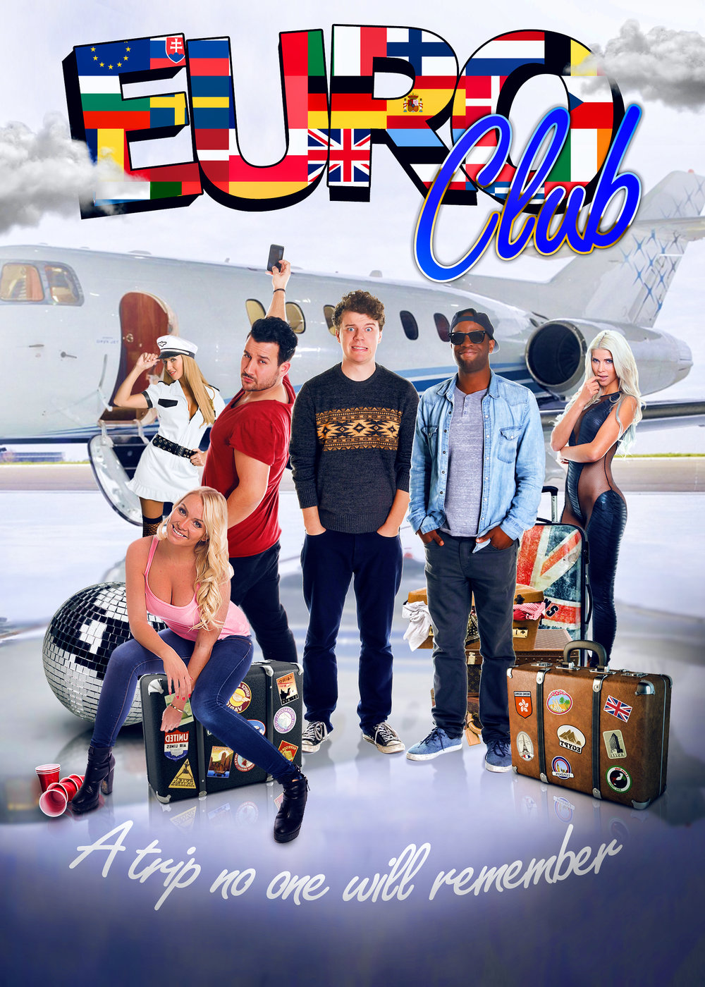 Euro Club   Three American guys who perpetually strike out with the ladies travel to Europe to embark on an adventure filled with drinking, dancing, & partying while dodging gypsies, gangsters, & hooligans to get to the world's hottest club.