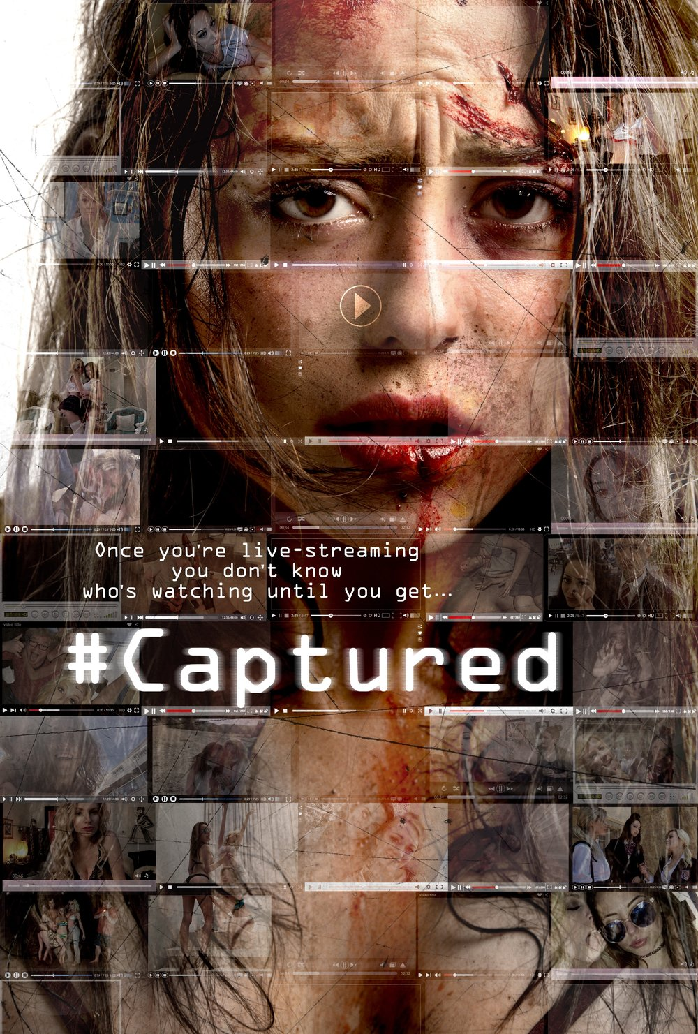 #Captured   A few privileged high school kids run an illicit chat room livestreaming their drug fueled sex parties to paying viewers on the internet. Little do they know there's a murderous zealot on a mission to rid the internet of sin.