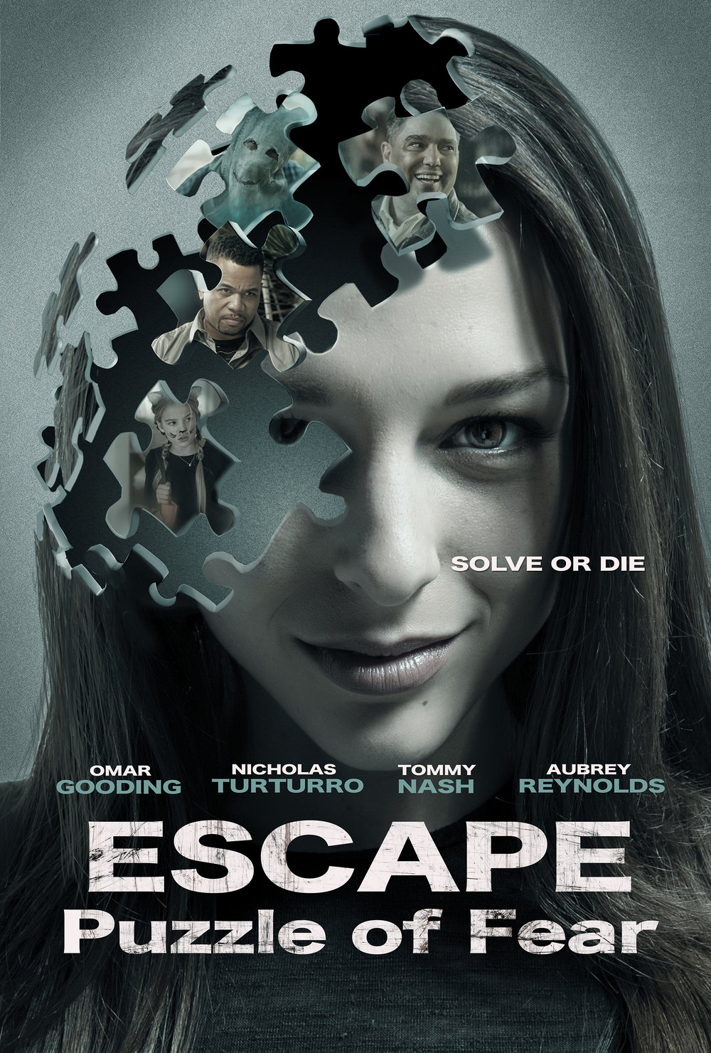Escape Room   After being wrongfully convicted of the murder of her kid sister, Brittany comes of age in an institution for the criminally insane. Now all grown up, Brittany exacts her revenge on the person who was really behind the murder of her sister.