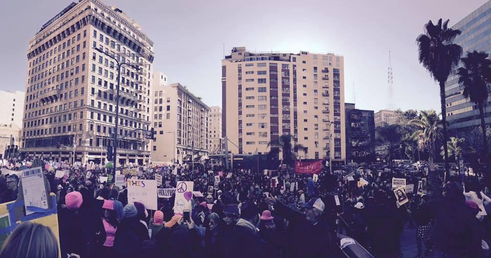 hoto by Rachel McGowan from Women's March Los Angeles