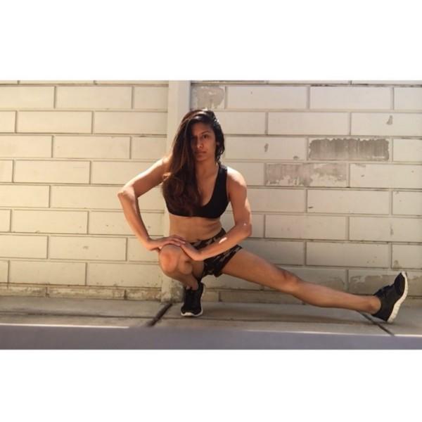 Monica has found healing in yoga. (Photo courtesy of Monica Luhar)