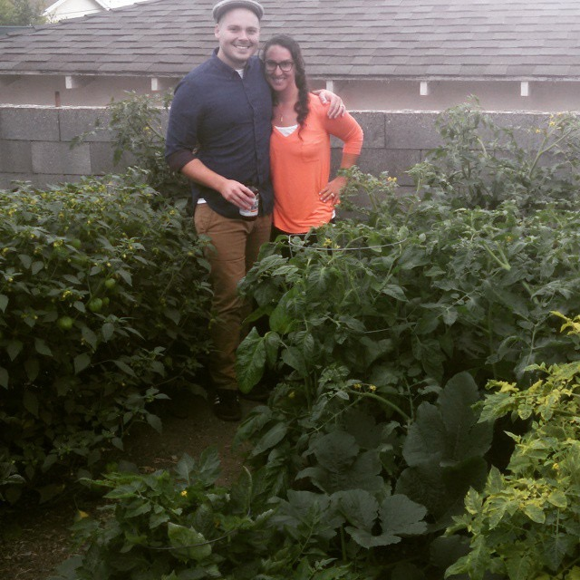 After healing from her pain, Carrie was able to garden again. (Photo courtesy Carrie Russell)
