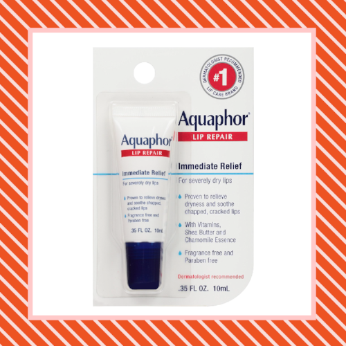 Products for Dry Winter Skin Aquaphor Lip Repair