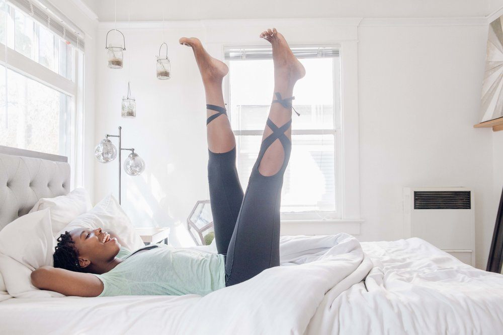 How To Ditch Your Alarm Clock for Better Mornings With Yoga Wake Up