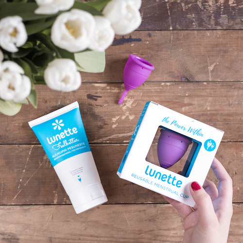 How to Try Lunette Menstrual Cups And Get Over the Period Stigma