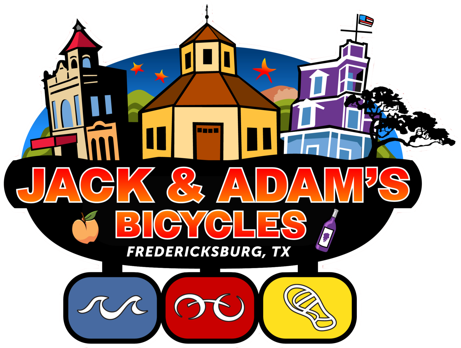 Image result for jack and adams bike shop fredericksburg tx