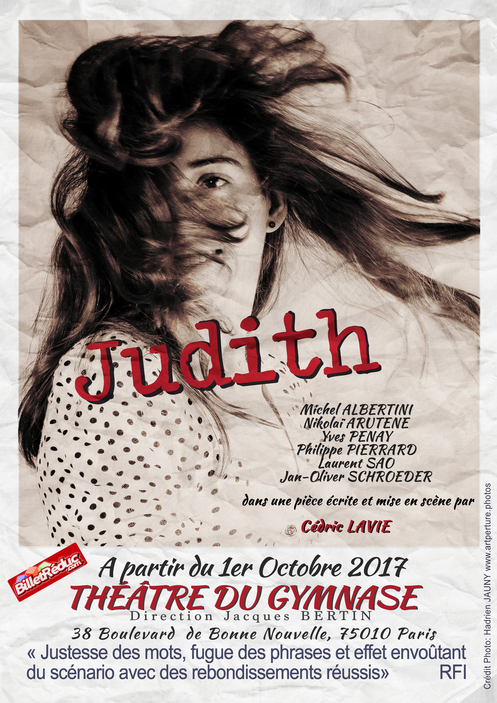 Judith Affiche Th dy Gymnase Sept 17.jpg