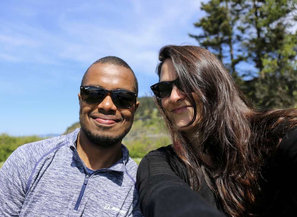 Here we are at Deception Pass State Park