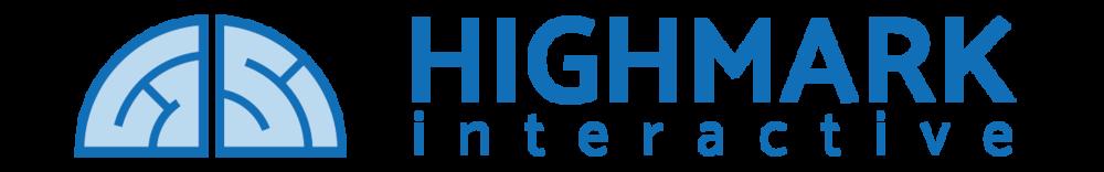 Highmark Interactive logo - horizontal format (png)