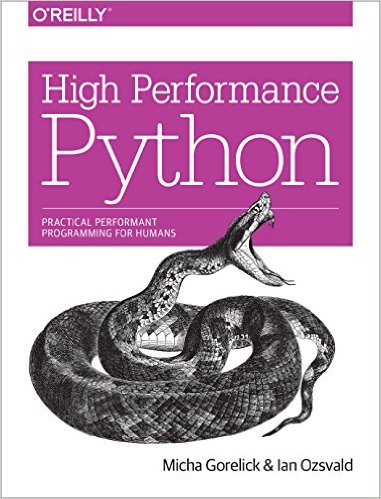 High Performance Python by Micha Gorelick & Ian Ozwald