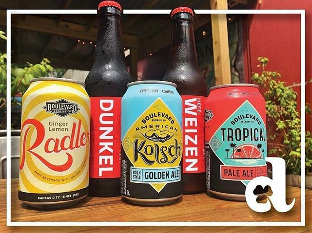 It's Friday, which means $3.50 Boulevard and KC Bier Co. beers! #lawrenceks #boulevardbrewing