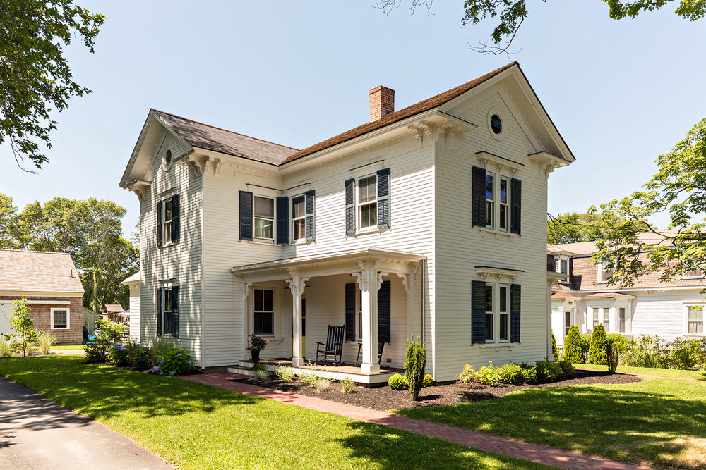 Exterior Renovation- Historic Sandwich