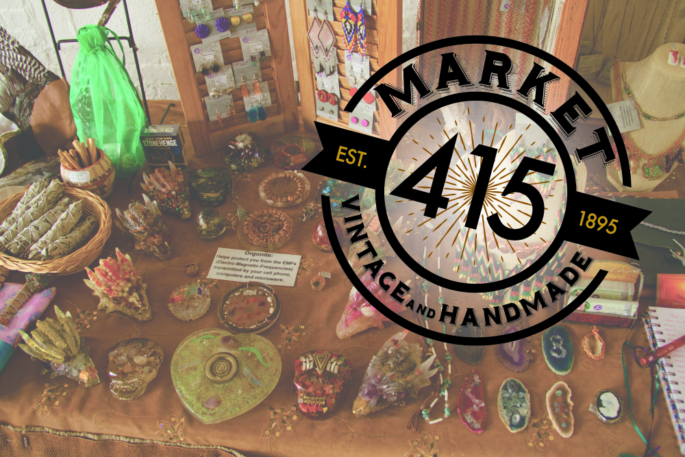 Market 415 - Shop vintage clothing, handmade jewelry, original artwork, and other handmade items by local CT vendors and makers!