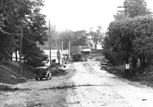 Doup's Point at the Corner of Bardstown Road and Taylorsville Road - 1935