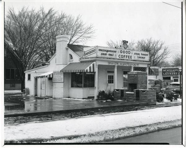 White House Diner in Belknap - 1934