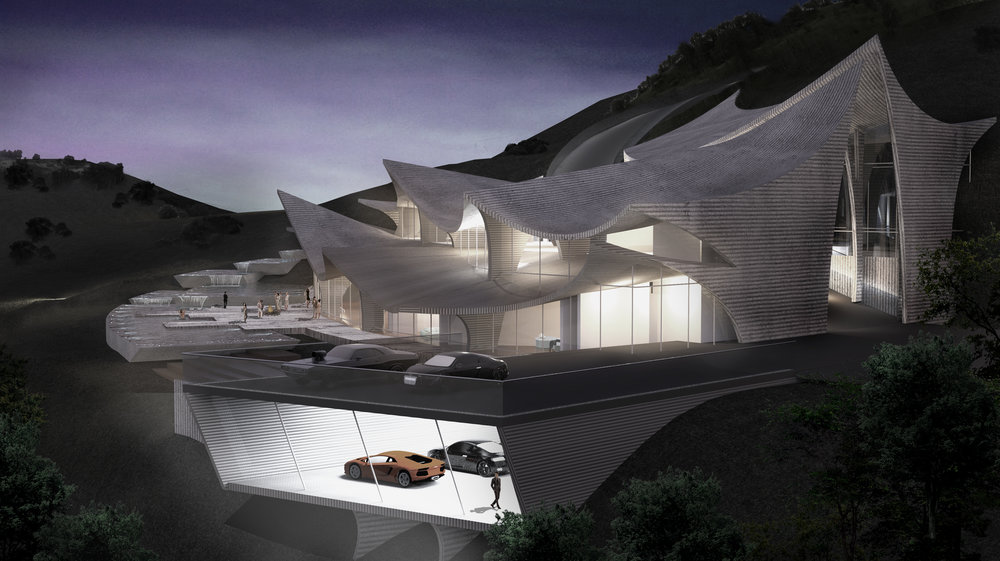 3D Print House - Malibu, CA, USA