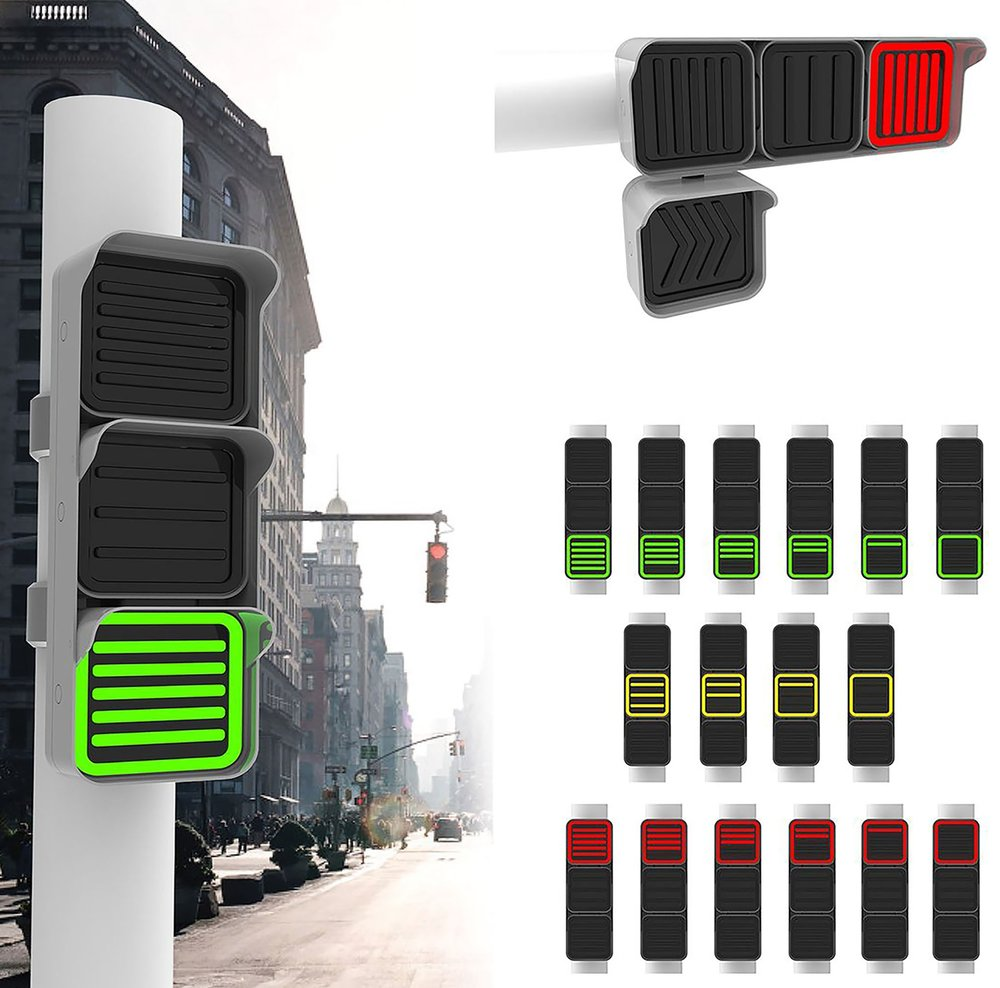 The 'FIK Light' by Edmund Liew takes the guessing out of traffic light changes and increases safety.