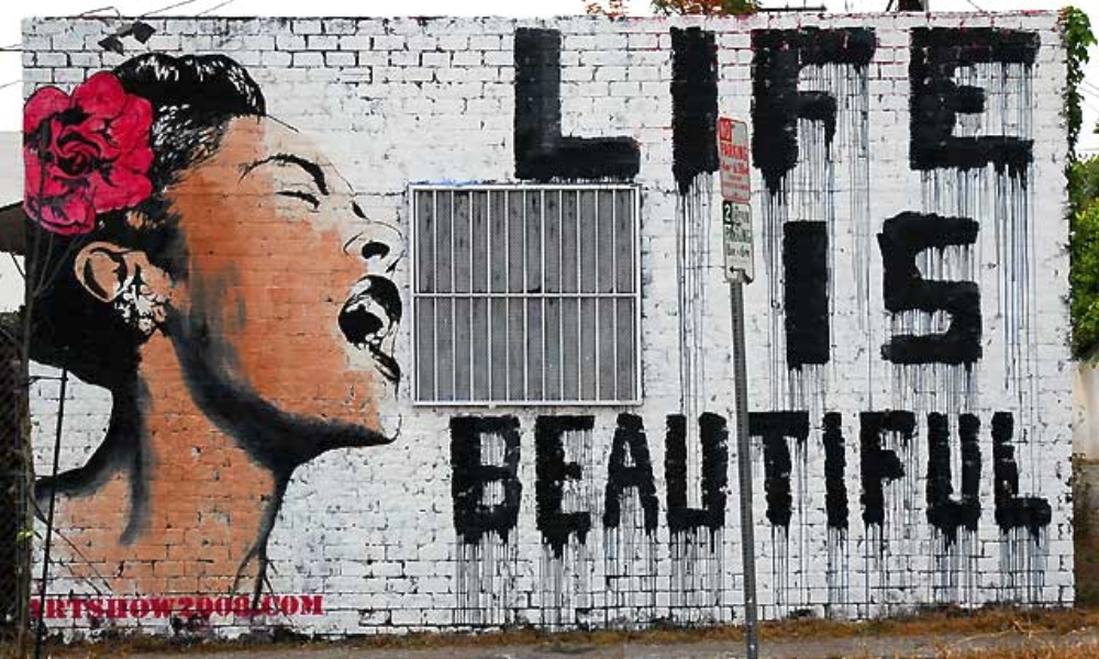 'Life is Beautiful', Mr Brainwash
