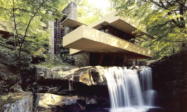 "Fallingwater (1935) Mill Run, Pennsylvania has been herald ""the best all-time work of American architecture""."