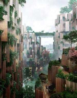 Kengo Kuma reveals plant-covered Eco-luxury Hotel for Paris, France