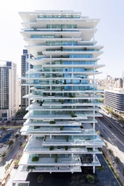 Beirut Terraces in Lebanon by Herzog & DeMeuron is a vertical village bringing an unprecedented way of living to crowded and dense Beirut.