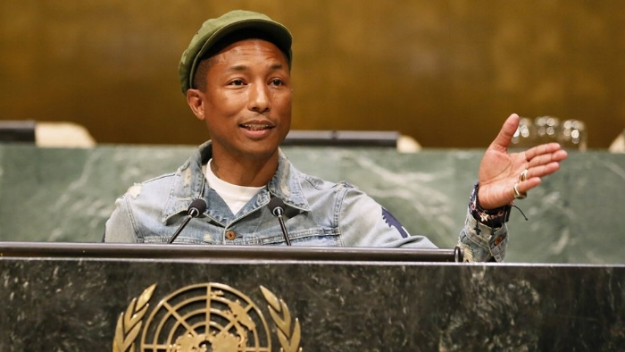 "Style & Resilience PR:    CO- Organized UN DPI distribution for students attendance    Leveraged pop culture and social impact by highlighting celebrity relation for social good      Pharrell Williams  addressed local New York students at the United Nations Headquarters on Friday, the International Day of Happiness, to discuss the importance of addressing climate change.  The ""Happy"" singer took the stage of the General Assembly Hall and greeted teen attendees with, ""I'm staring at the future right now. Hello to the future.""  ""Music brought me happiness. And when you find out what makes you happy — and it can be something as detailed as a long-term goal, or it can be something as simple as the way I feel when my son smiles — you should know that happiness is your birthright,"" said Williams. ""It's a reaction to something.""  ""We have to move from climate change to climate action,""  said Williams . ""We're in trouble, but we can change.""  In partnership with the UN Foundation, Williams launched a global online ""Happy Party."" The online campaign's aim is to have supporters sign the Live Earth Petition, which will urge global leaders to tackle climate change and make it a priority at the December summit. He invited fans to upload personal photos on  globalhappyparty.com  that will be transformed into a GIF to the tune of ""Happy."""