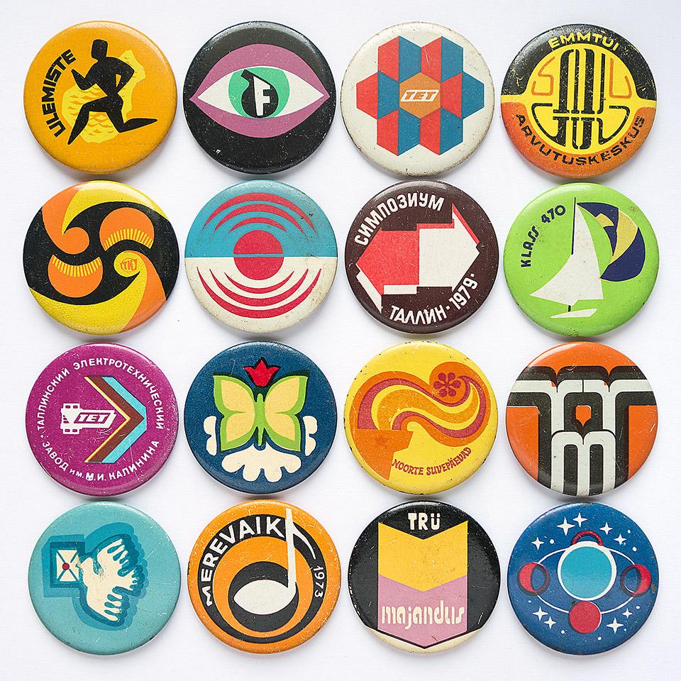 Buttons from a junk shop in Tallinn, Estonia