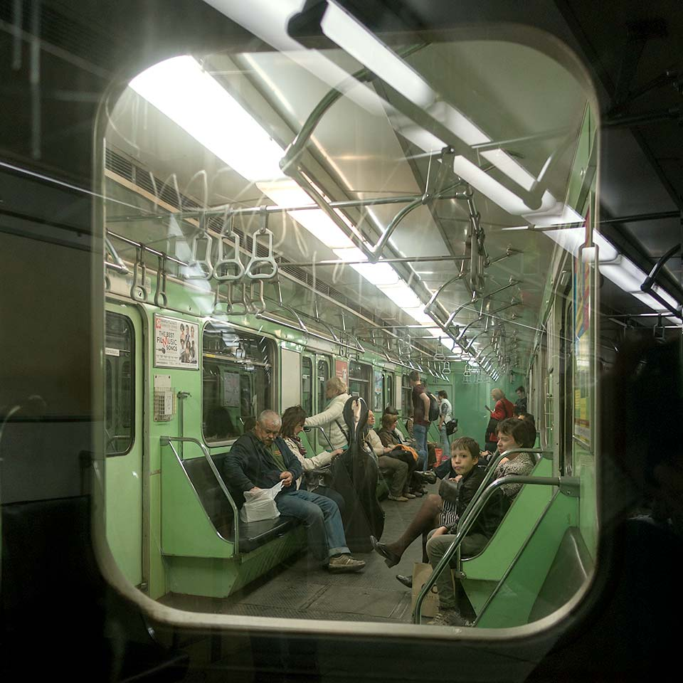The Soviet-built carriages on Budapest's Metro 3 line have been pleasing passengers since 1976.