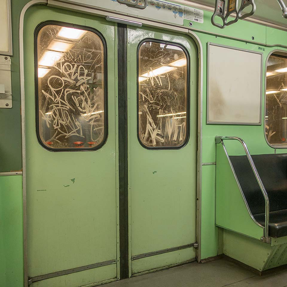 I've loved the minty green freshness of Budapest's Metro 3 line carriages ever since my first ride in 1996.