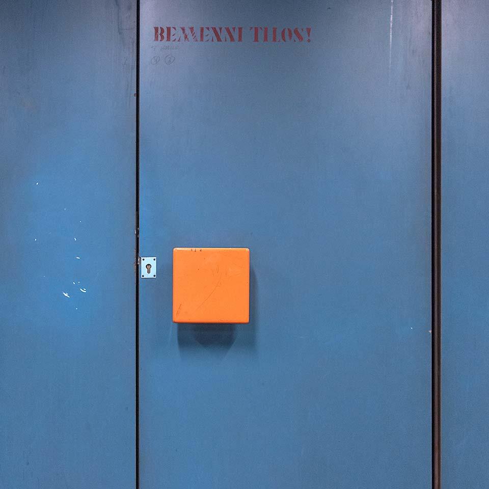 BEMENNI TILOS! / Going is not allowed!