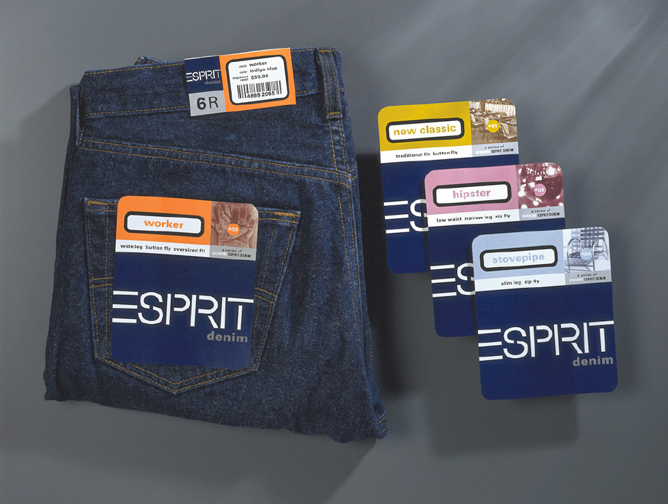 Packaging system for Esprit Denim