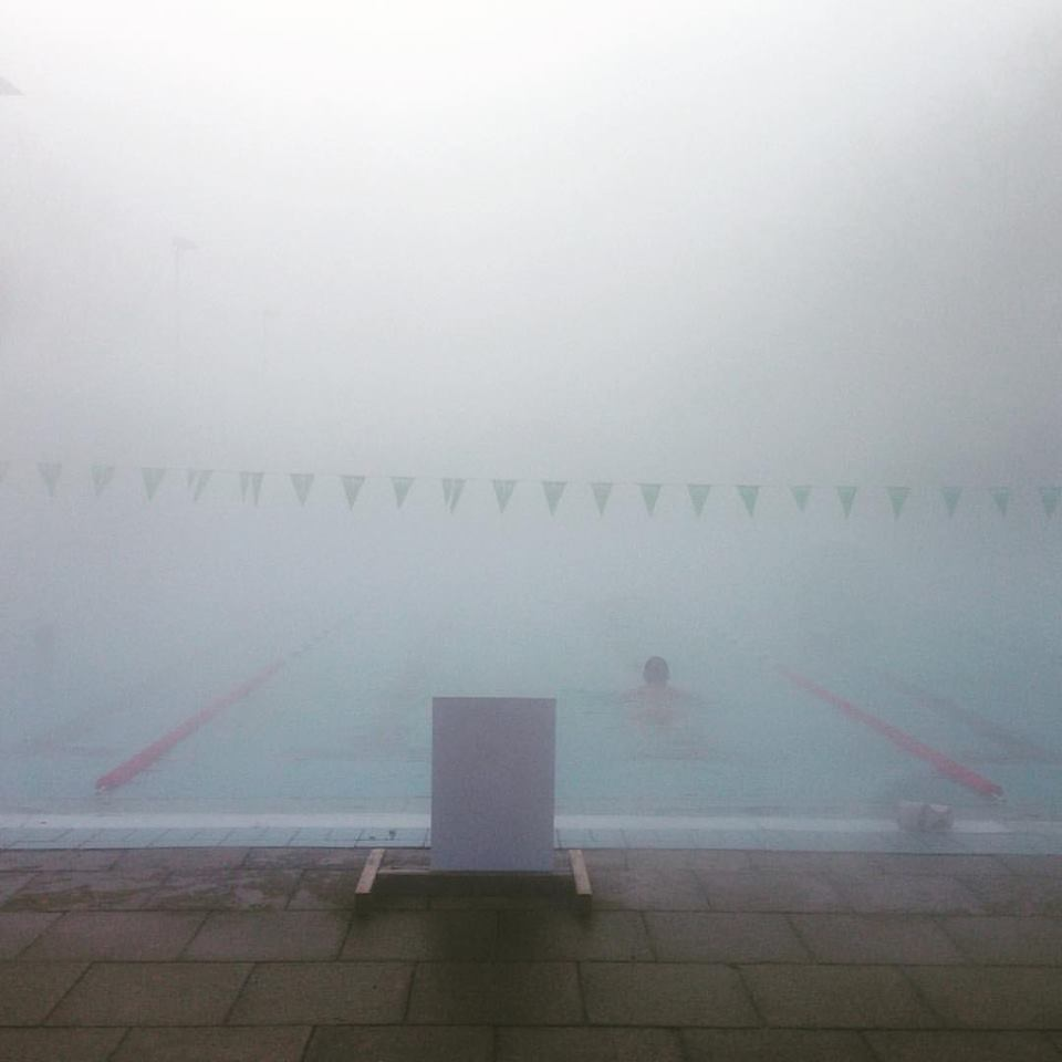 London Fields Lido, 2017