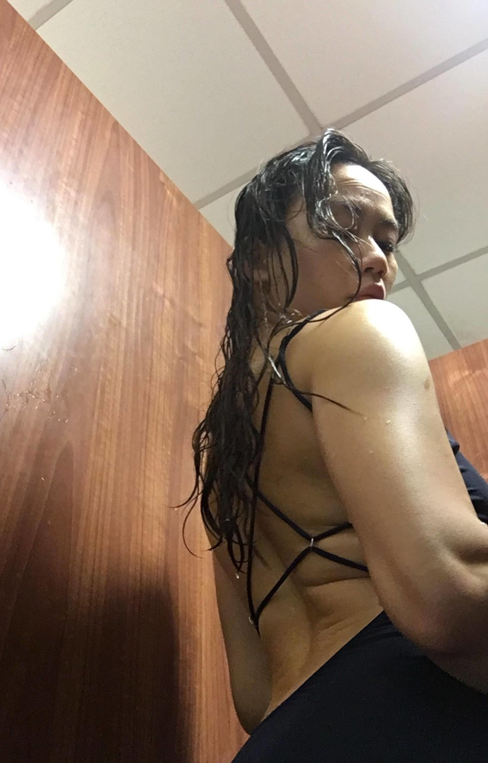 Halla swimsuit by Acne Studios