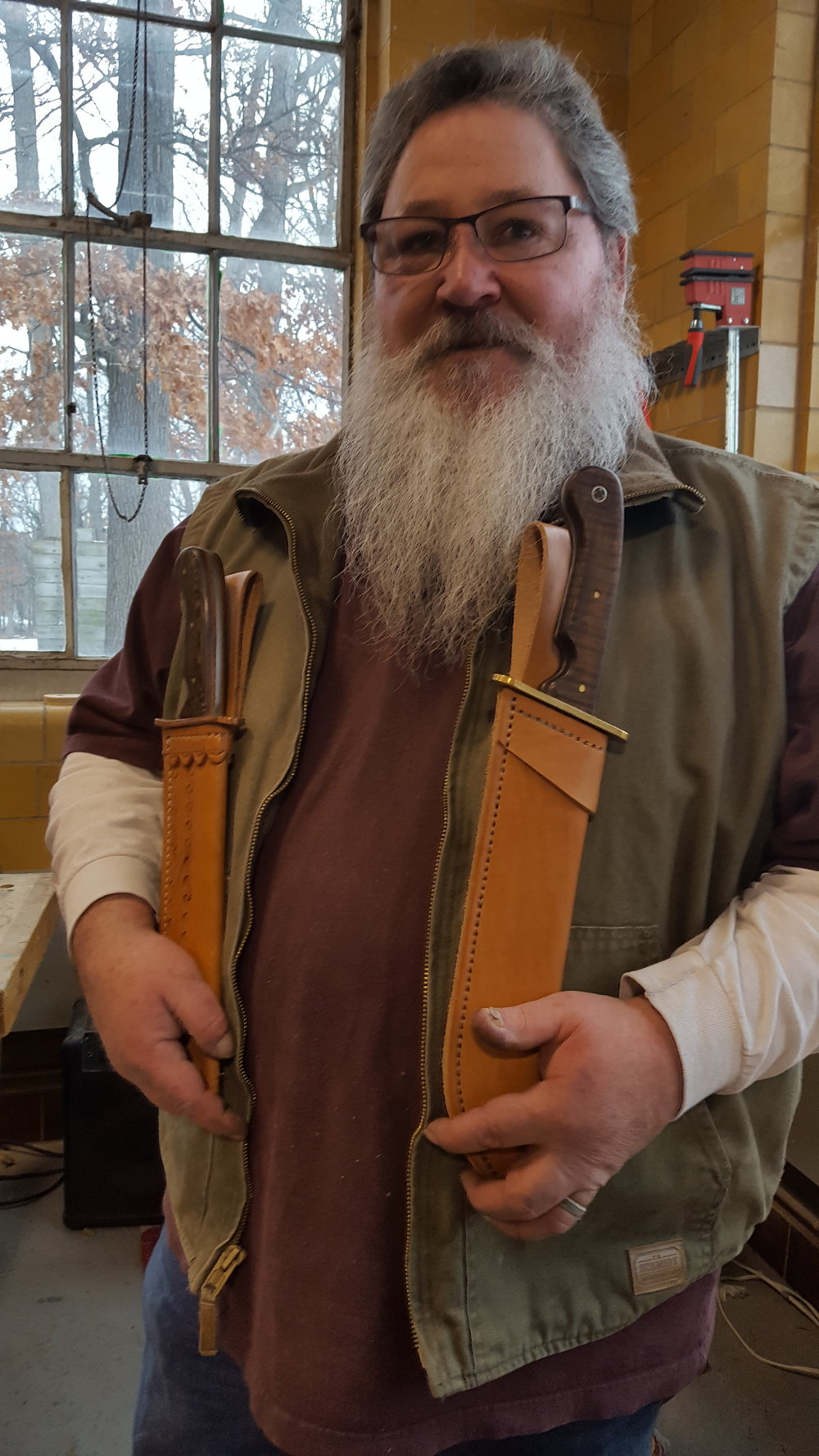 Patrick Estes: Knife Maker and Leatherworker
