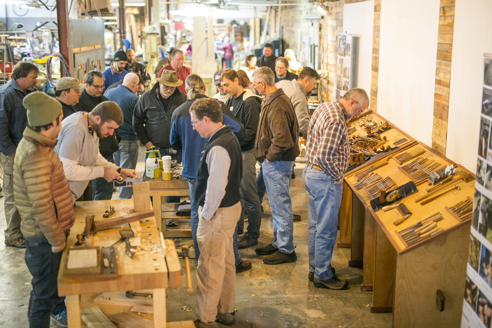 Lie-Nielsen Hand Tool Event - Free to Attend