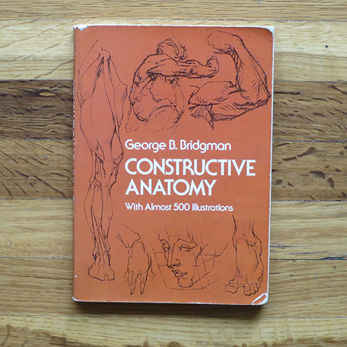 Constructive Anatomy - George B. BridgmanThis was one of the first books on anatomy construction I ever bought. It helped me to think of the forms in a more 3 dimensional way. I still fall back on what I learned in this book.