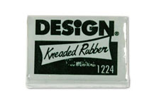8A) Sanford Design Kneaded Rubber Art Eraser - I roll this into a cylindrical shape, and rub it over my sketches to lighten the pencil before I go in to make more final linework.