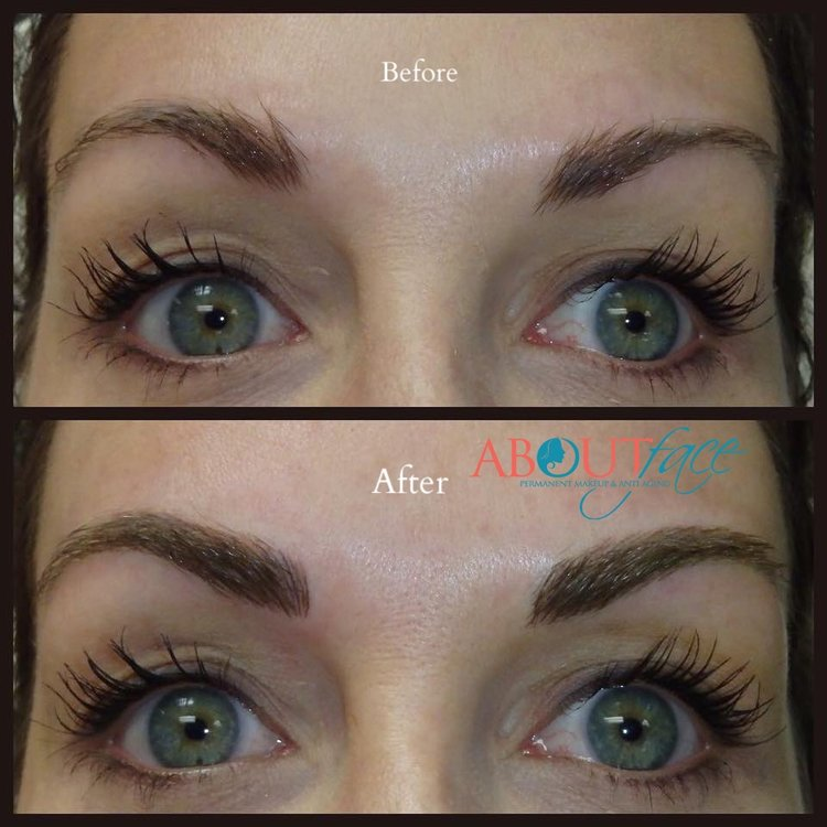 - Permanent Makeup using Machine