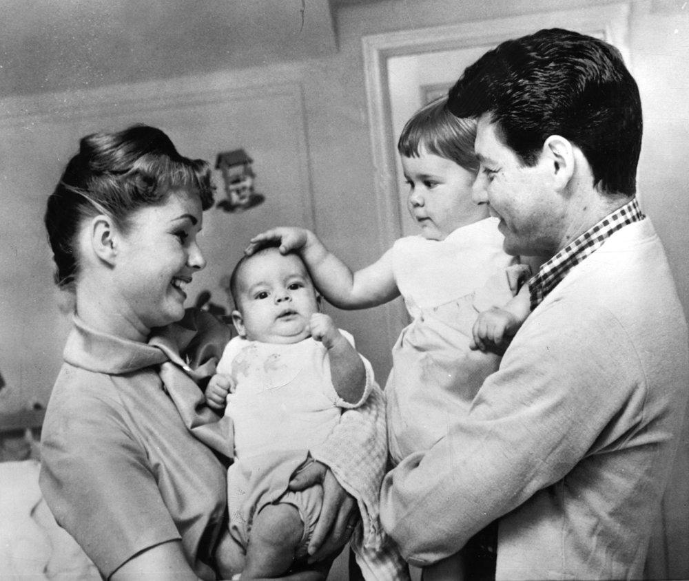 DEBBIE, TODD, CARRIE & EDDIE - 1959