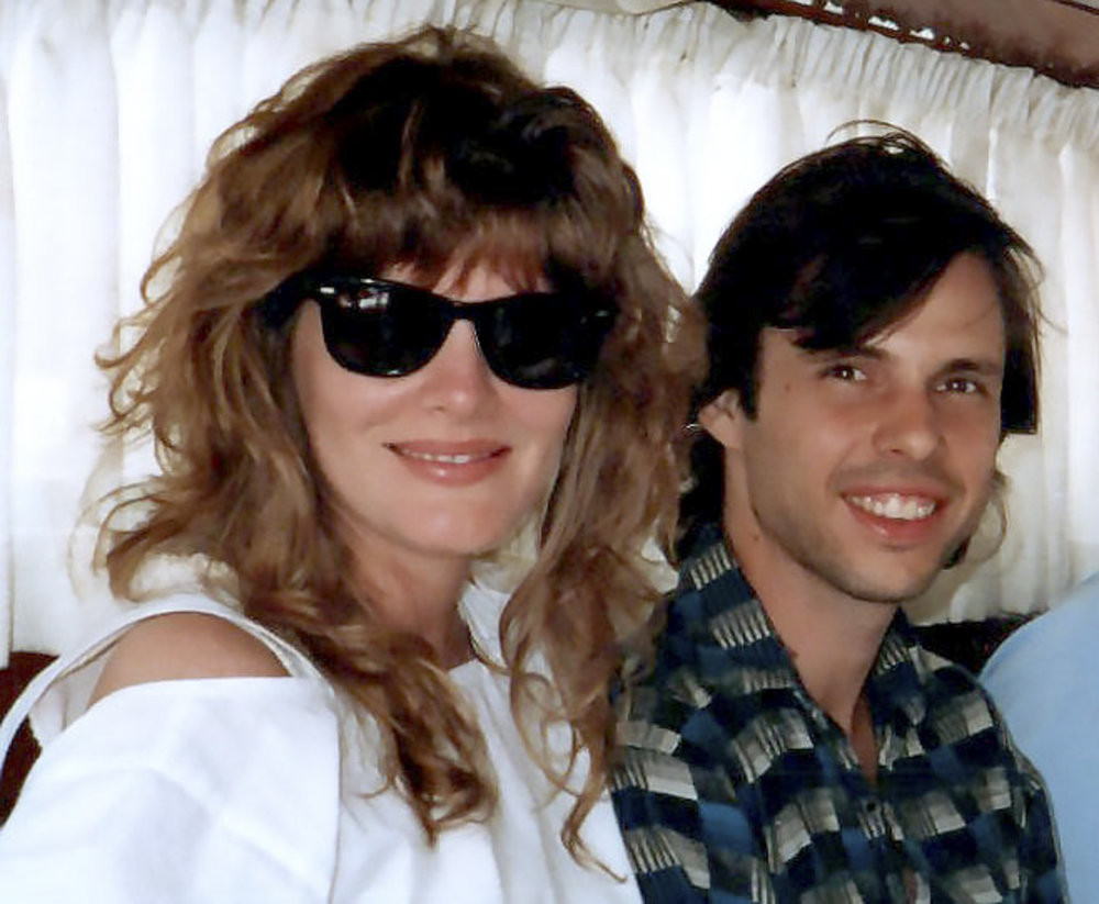 RENE RUSSO AND TODD ON THE ORIENT EXPRESS