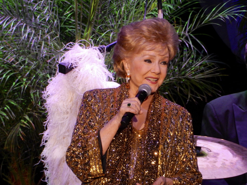 DEBBIE AT THE SOUTH POINT CASINO PERFORMING THE LAST SHOWOF HER CAREER