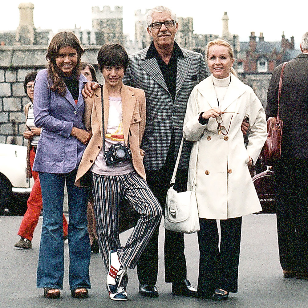 CARRIE, TODD, HARRY AND DEBBIE ON THEIR EUROPEAN VACATION